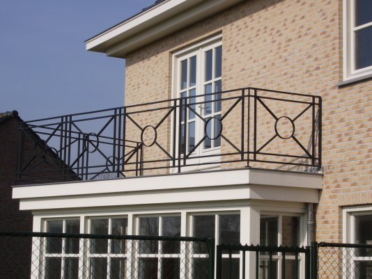Prachtig balkonhekwerk door B&S Hekwerk